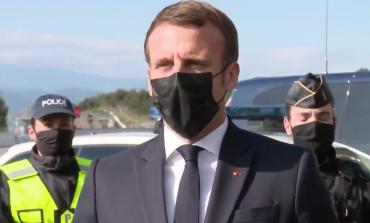 Emmanuel Macron annonce un doublement des forces de sécurité contrôlant les frontières de la France