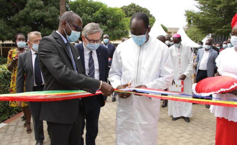 Inauguration de l'Espace Général Jean-Alfred Diallo au CHOM de Dakar