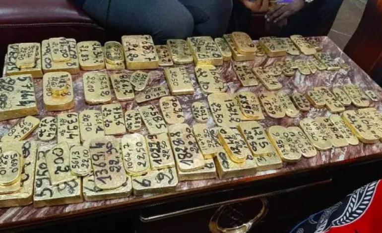 Les douaniers maliens saisissent 143 kg d'or dans une voiture en route vers la Guinée