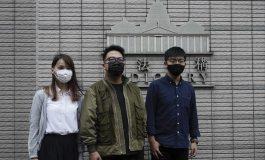 Joshua Wong, Agnes Chow et Ivan Lam, des militants pro démocratie condamnés