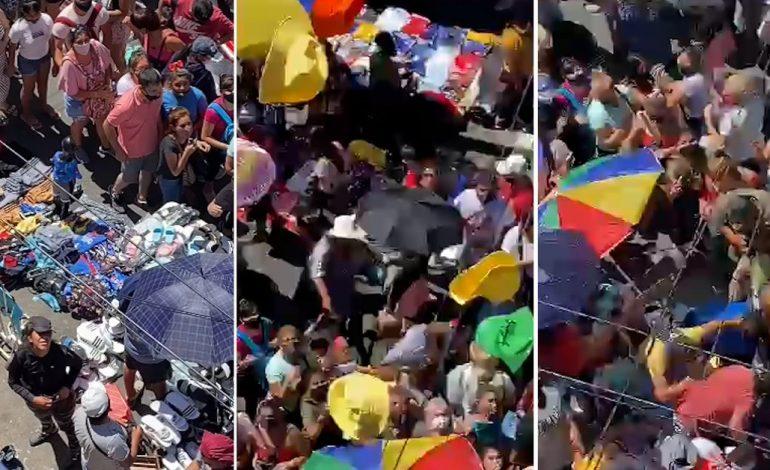 Coups de poings entre manteros et marchands ambulants sénégalais à Flores en Argentine