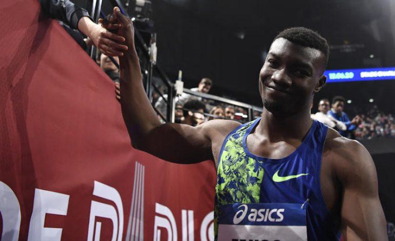 Hugues Fabrice Zango bat le record du monde du triple saut en salle