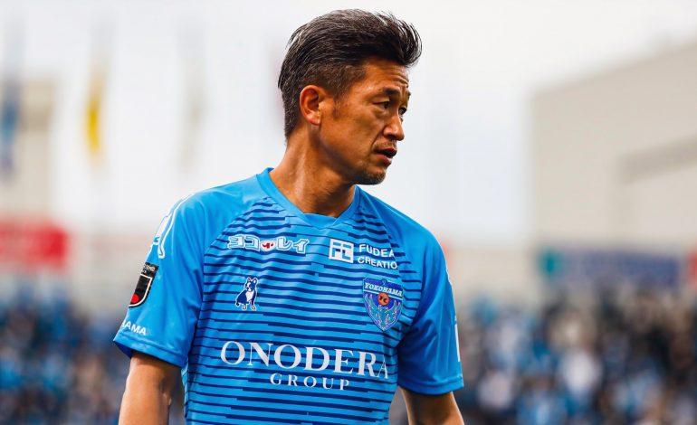 Kazuyoshi Miura, 54 ans et footballeur le plus âgé de l'histoire, prolonge encore avec Yokohama FC