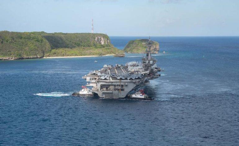 Le porte-avions américain «Theodore Roosevelt» pénètre en mer de Chine méridionale