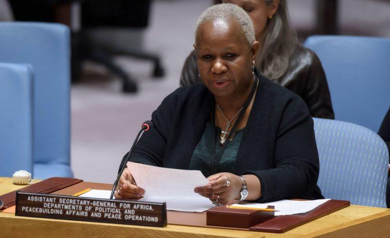 Bintou Keita, représentante spéciale de l'ONU en RD Congo