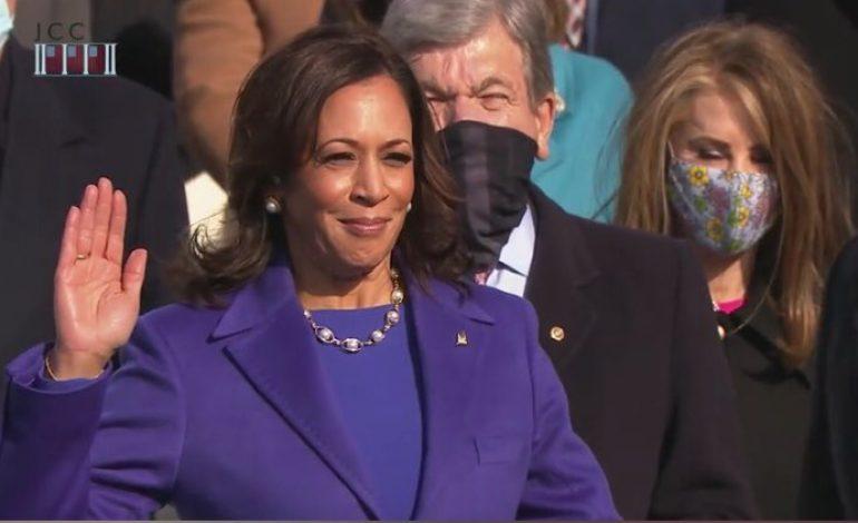 Kamala Harris a prêté serment en tant que vice-présidente des Etats-Unis