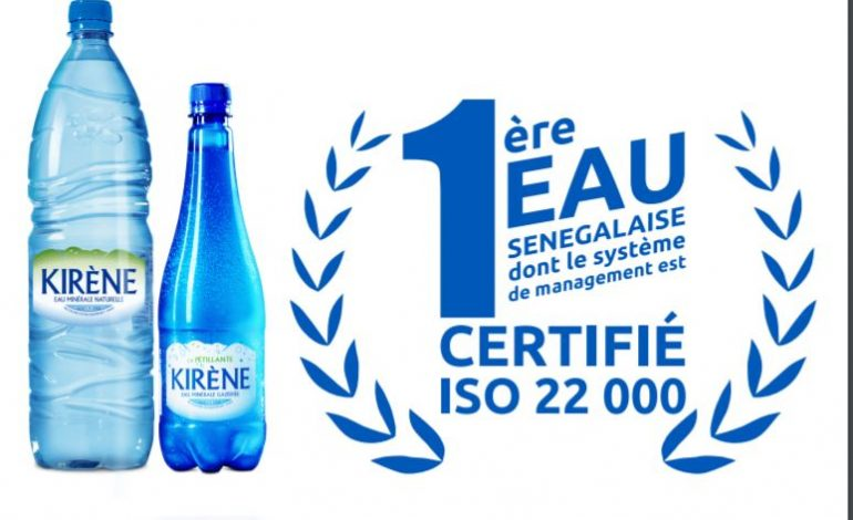 Kirène obtient la certification ISO 22000