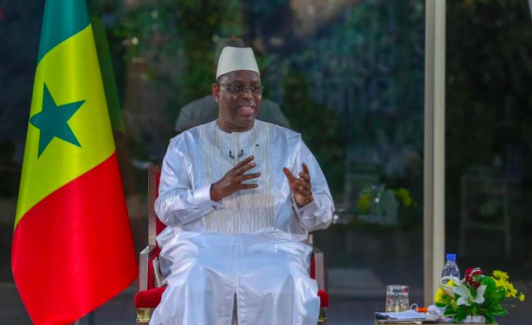 La récession a été évitée au Sénégal grâce à une bonne pluviométrie, déclare Macky Sall