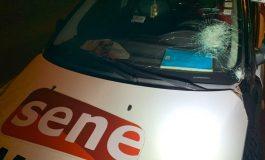 Le SYNPICS condamne le caillassage du véhicule de Seneweb