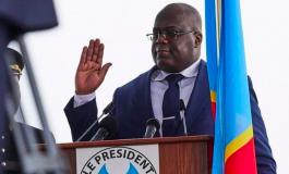 Félix Tshisekedi inaugure l'école de guerre Kinshasa