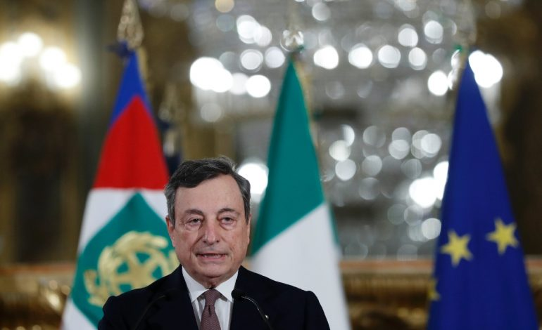 Mario Draghi a prêté serment pour prendre la tête du gouvernement italien
