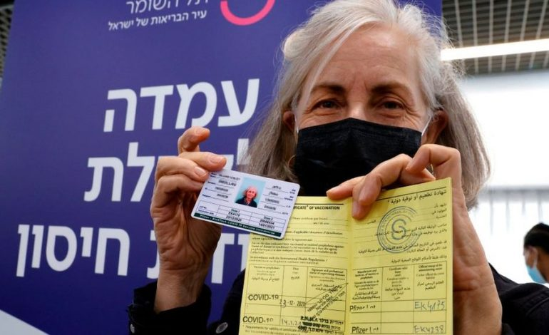 Le vaccin, Pfizer/BioNTech en Israël semble porter ses fruits