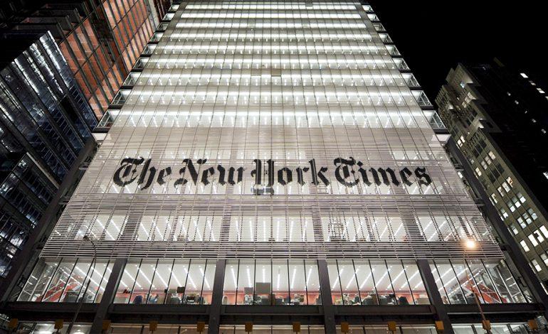 Le New York Times comptait 7,5 millions d'abonnés fin 2020 soit plus de 2,5 millions en une seule année