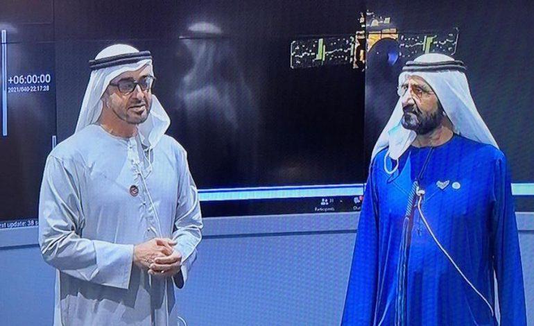 La sonde des Emirats, Hope, se place en orbite autour de la planète Mars, une première arabe