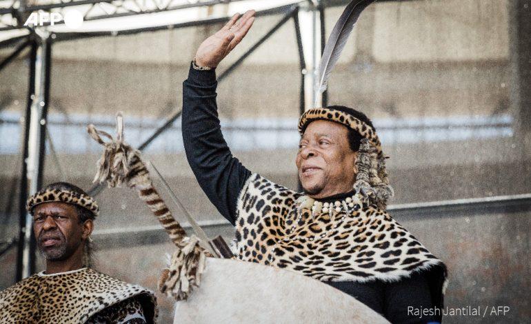 Mort du roi zoulou Goodwill Zwelithini
