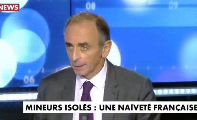 CNews condamné à 200.000 euros d'amende pour les propos d'Éric Zemmour sur les migrants mineurs