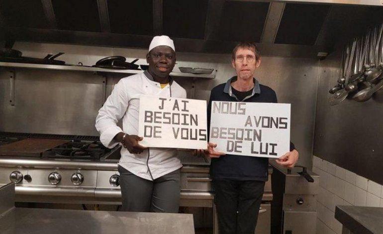 Menacé d'expulsion, l'avenir de Dembo sur le fil du rasoir dans le Calvados
