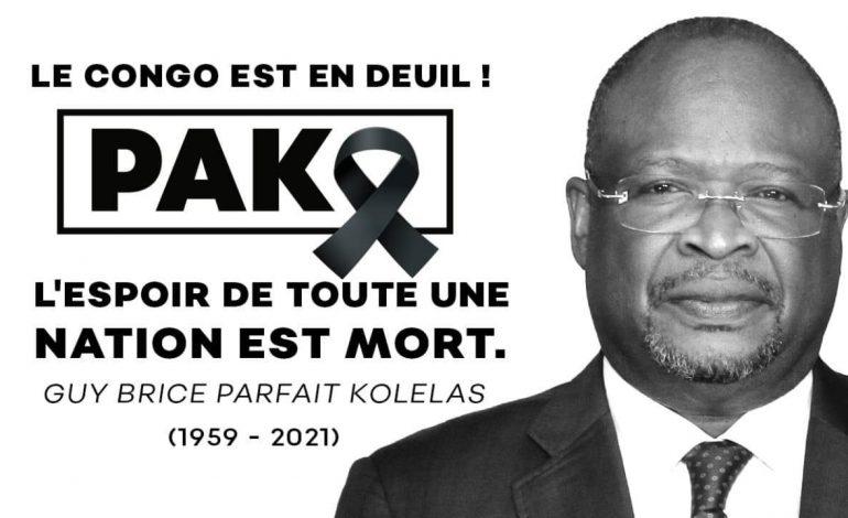 Guy-Brice Parfait Kolélas, opposant de Denis Sassou Nguesso meurt du Covid-19 juste après la présidentielle
