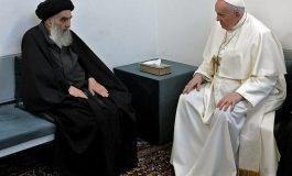 """Le pape François et l'ayatollah chiite Ali Sistani s'engagent pour la """"paix"""""""