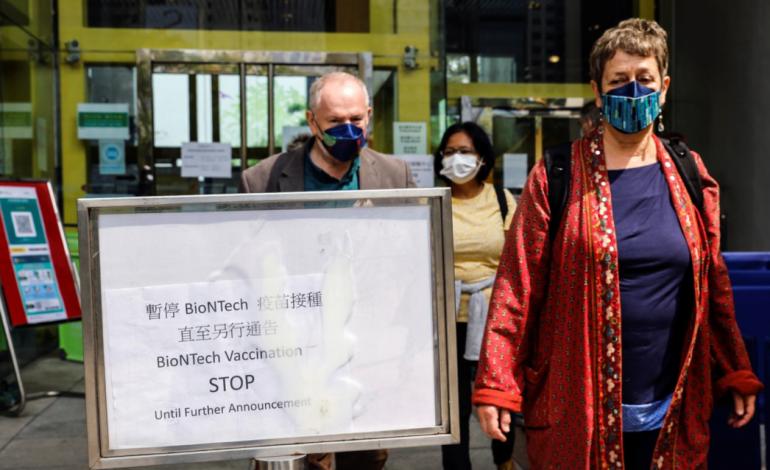 Une clinique hongkongaise sanctionnée par la Chine pour avoir déconseillé Sinovac, le vaccin chinois