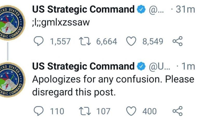 Un enfant s'empare du compte Twitter du commandement des armes nucléaires