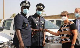 L'Union Européenne offre des véhicules à la Police Nationale pour les postes de Karang, Rosso et Tambacounda - Communiqué