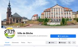 La municipalité de Bitche de retour sur Facebook après sa suspension