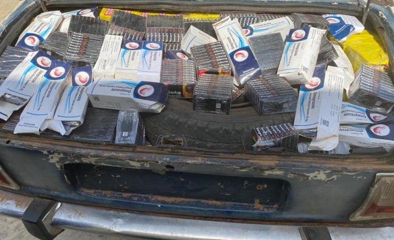 Lutte contre le trafic de faux médicaments: De faux médicaments, du chanvre indien, des cargaisons de sachets plastiques et de l'engrais saisis.