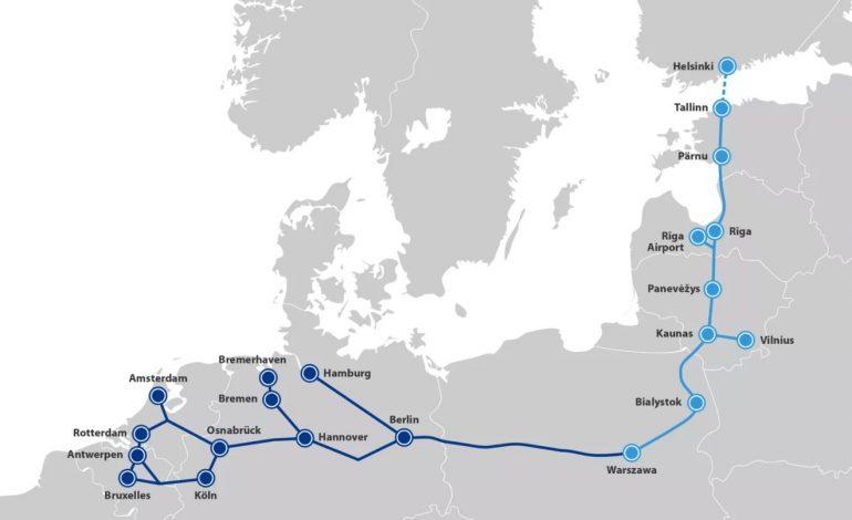 La Finlande et l'Estonie relancent leur projet de tunnel ferroviaire sous-marin de 100 km
