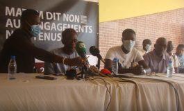 Le Mouvement «Matam-dit-Non» demande au Président de respecter ses engagements pris depuis 2013
