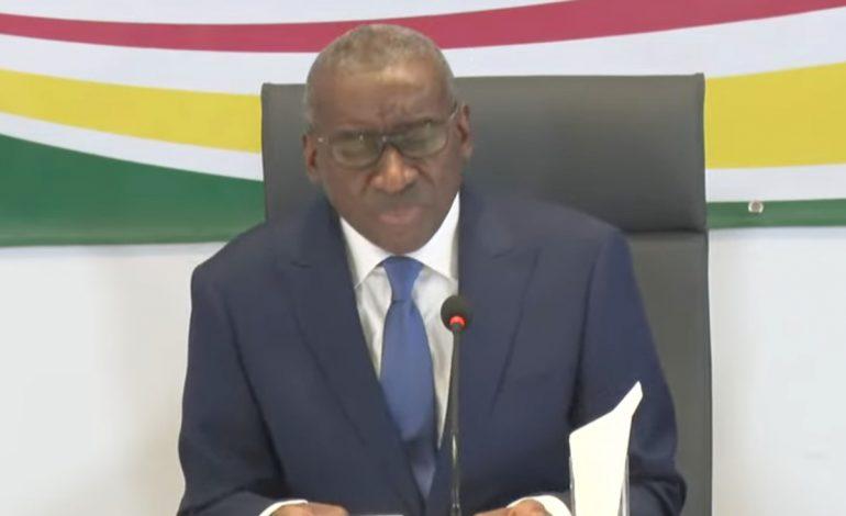 Le ministre de la Défense, Sidiki Kaba annonce une commission d'enquête indépendante et impartiale après les émeutes du mois de mars