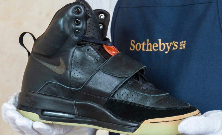 Les sneakers Nike Air Yeezy 1 de Kanye West vendues 1,8 million de dollar