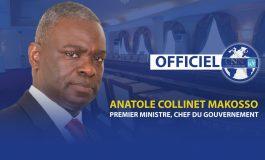 Anatole Collinet Makosso nommé nouveau Premier Ministre au Congo
