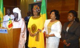 Batoura Kane Niang exprime sa gratitude à Antoinette Sassou N'Guesso