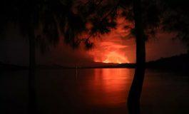 La lave du volcan Nyiragongo s'immobilise dans le faubourg de Buhene
