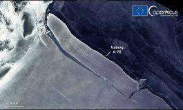 Le plus gros iceberg du monde s'est détaché de la banquise de Ronne en Antarctique