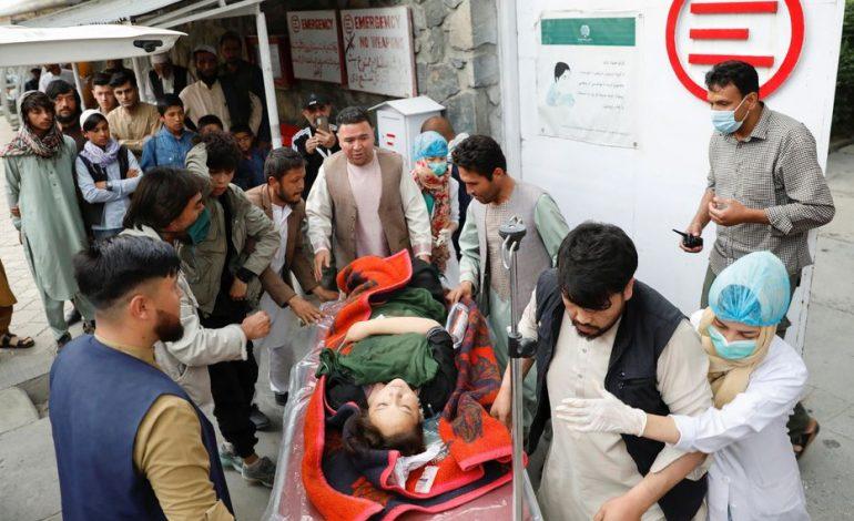 Au moins 25 morts lors d'une explosion devant une école à Kaboul