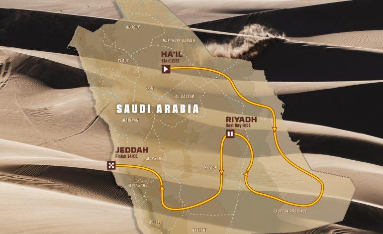 Le parcours du Dakar2022 en Arabie Saoudite révélé
