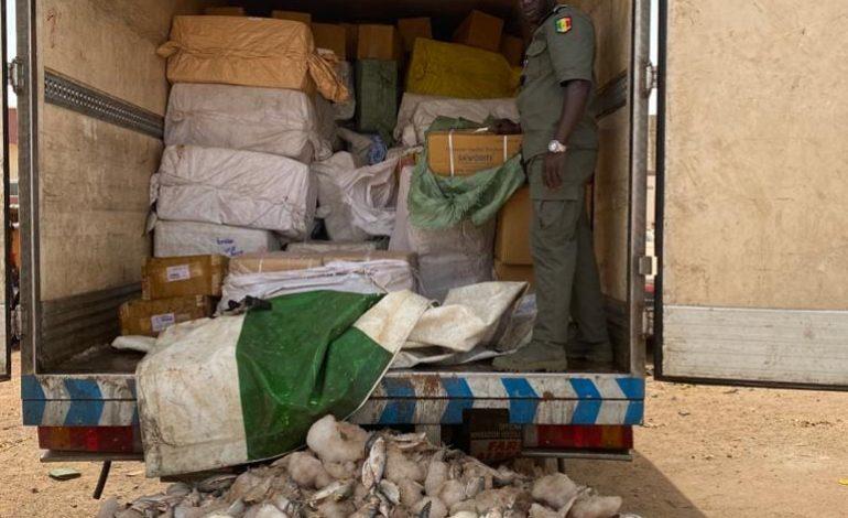 La Douane sénégalaise saisit des médicaments d'une valeur de plus de 1,5 milliard FCFA à Keur Ayip