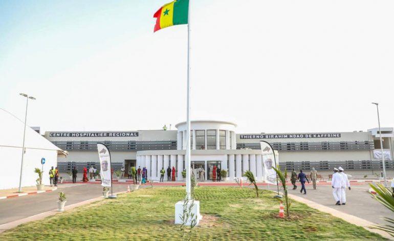 Macky SALL inaugure l'hôpital régional Thierno Birahim Ndao à Kaffrine