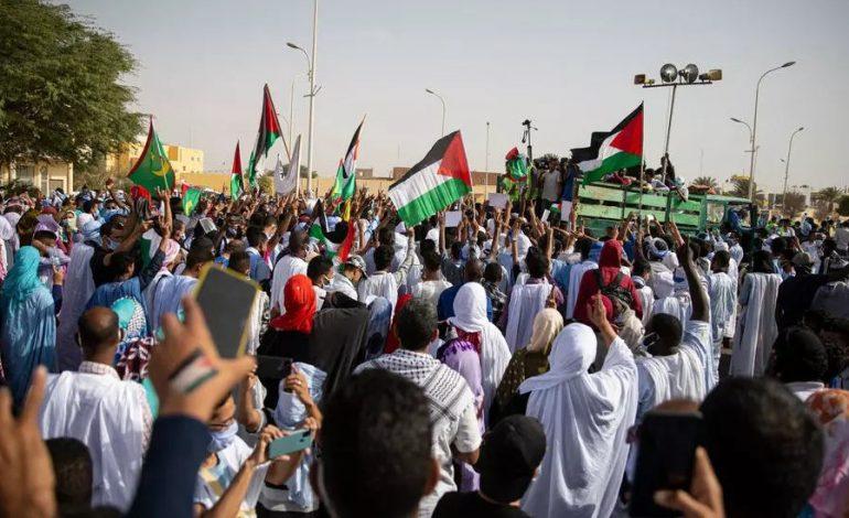 Des milliers de manifestants à Nouakchott en soutien aux Palestiniens