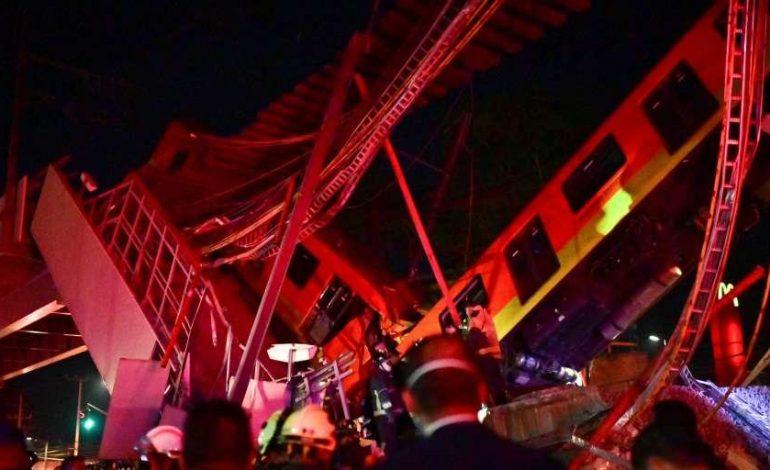 Un pont du métro aérien s'effondre à Mexico: au moins 23 morts et 70 blessés