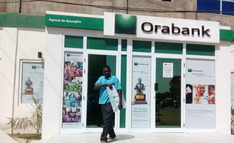 Baisse du résultat net de la banque Oragroup