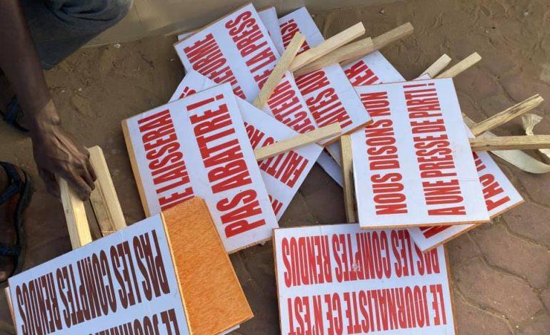 Les journalistes Sénégalais exigent de meilleures conditions de travail