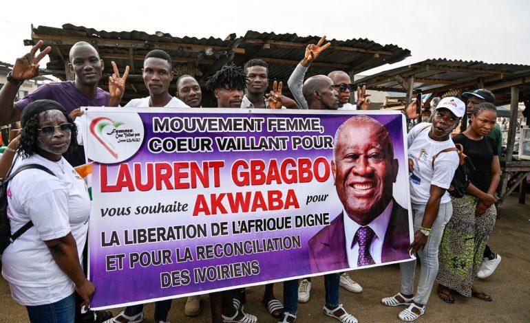 Laurent Gbagbo est rentré en Côte d'Ivoire, accueilli par des partisans en liesse