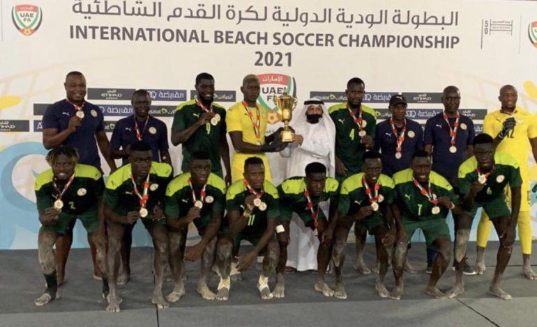 Les Lions de Beach Soccer remportent le tournoi de Dubai