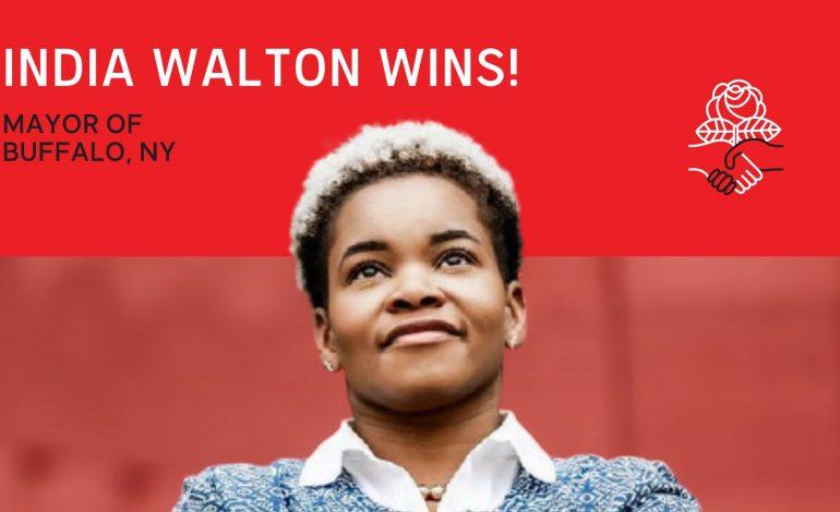 India Walton, une socialiste en voie de devenir maire de Buffalo (Etat de New York)