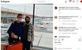 Une photo présumée de la princesse Latifa de Dubaï prise à l'aéroport de Madrid diffusée sur les réseaux sociaux