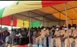 Inauguration d'un centre de santé à Bambaly par Sadio Mané