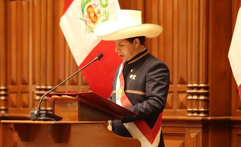 Pedro Castillo, premier président «paysan» du Pérou